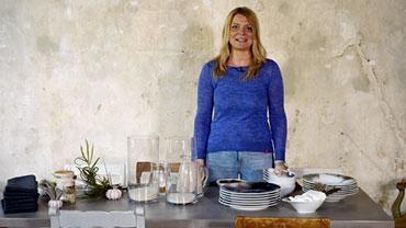 Patricia Morgenthaler präsentiert Dekotipps mit Naturmaterialien