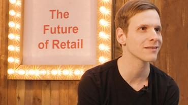 Christian Spancken im Interview auf dem Retail BLVD der Christmasworld in Frankfurt.
