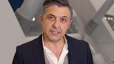 Udo Latino im Interview auf der Messe Frankfurt
