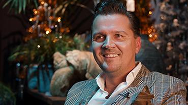 Rudi Tuinman von 2dezign im Interview auf der Christmasworld