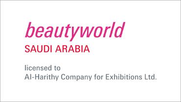 Logo der Beautyworld Saudi Arabia licensed to Al-Harithy Company for Exhibitions Ltd.