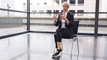 Dr. Steffi Burkhart im Interview auf der Ambiente